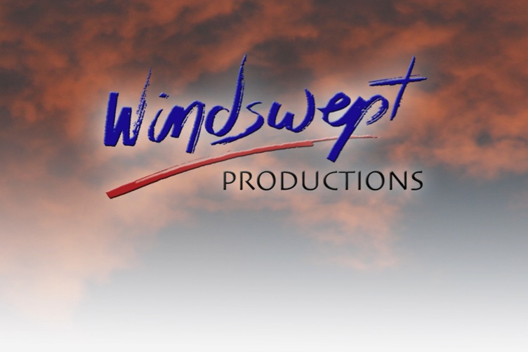 Windlogo over clouds 4